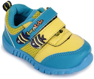 Liberty Yellow Casual Shoes For Infants