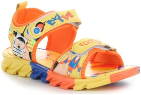 Liberty Yellow Sandals For Infants