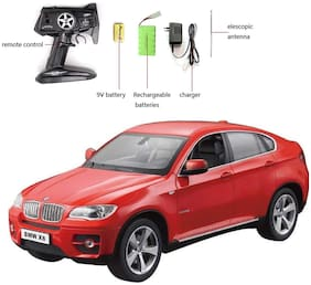 Licensed BMW X6 RC High Speed Sports Car, Red WITH REMOTE, BATTERY AND CHARGER
