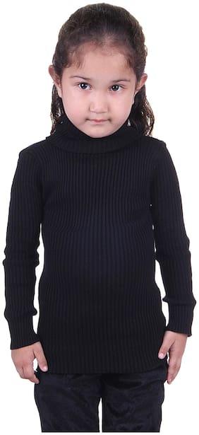 LIENZ Black Wool Sweater