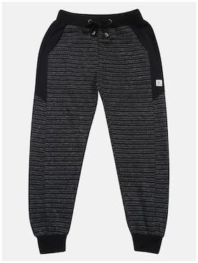 Li'l Tomatoes Boy Cotton Track pants - Black