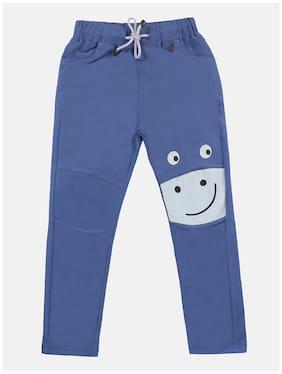 Li'l Tomatoes Baby boy Cotton Solid Pyjama - Blue
