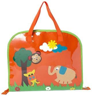 Orange jungle Kids Drawing bags (Return Gift / Birthday Gift / Travel Kit / Lunch bag / Kids activity bag/Shopping bag /Travel bag /Art bag)