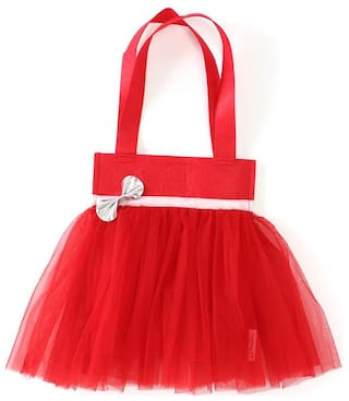Red Kids Tutu Bag ( Return Gift / Birthday Gift/ Tote bag)