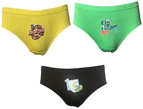 Lilsugar Brief For Boys - Multi , Set of 3