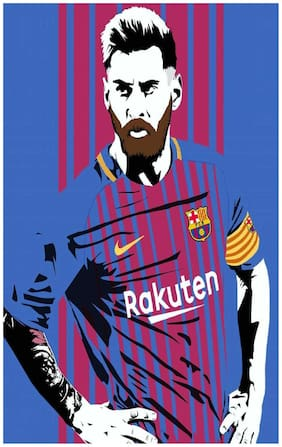Lionel Messi sticker - leo messi sticker - messi stickers - messi motivational quotes sticker - Football sticker - sticker for room