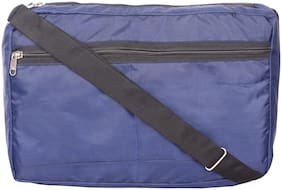 Lite Blue Polyester Sling Bag