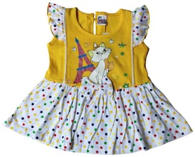 Little Life Yellow Frocks (Size-18)