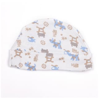 Buy Pikaboo Baby Boy Cotton Cap - Multi Online at Low Prices in ... 74811cc516a
