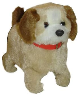 little rock multi color notty Battery-operated Puppy toy