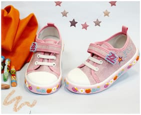 LITTLE SOLES Pink Casual Shoes For Infants