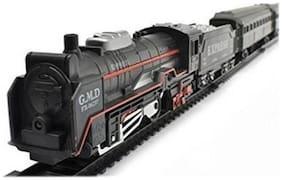 Live Long Old Steam Engine Light Train Set Toy