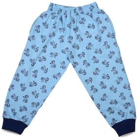 MABYN Boy Cotton Track pants - Blue
