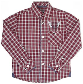 London Fog Boy Cotton Checked Shirt Multi