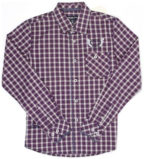 London Fog Boy Cotton Solid Shirt Multi