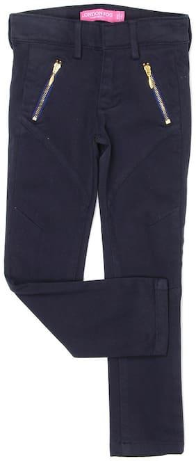 London Fog Girl Blended Trousers - Blue