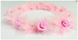 Loops N Knots Pink Girls Hair clip