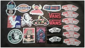 Lot of (20) Assorted Skateboard Stickers - receive exactly what is pictured - 6