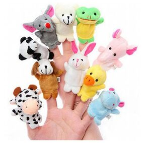 Lotus Finger Puppets (pack Of 10)