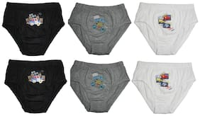 Love Brief For Boys - Multi , Set of 6