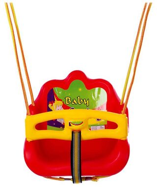 Lovely Red Baby Swing