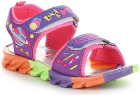 Liberty Purple Sandals For Boys
