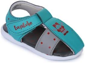 Liberty Blue Sandals For Infants