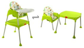 Luvlap 3 In 1 Baby High Chair - Green