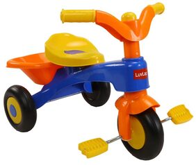 LuvLap Charlie Baby Tricycle with Horn ( Orange)