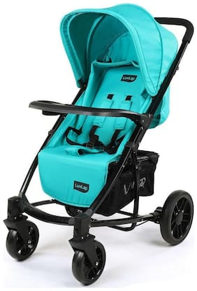 LuvLap Elite Baby Pram Stroller - Sea Green