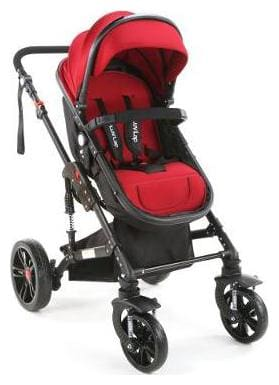 Luvlap Premier Pram -purple ( For Babies Upto 25 Kgs)