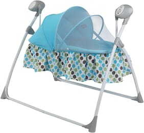 LuvLap Royal Swing bed Blue
