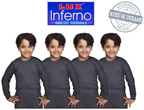 Lux Inferno Grey Thermal Upper (Set of 4)