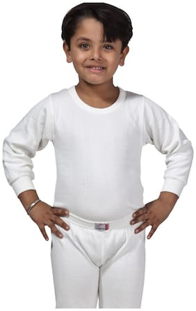 Lux Inferno Thermal For Boys - White , Set of 1