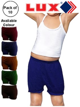 Lux Panty & bloomer for Girls - Multi , Set of 10