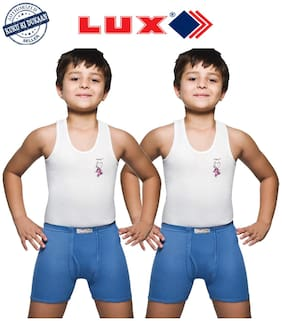 Lux Combo For Unisex - White , 2