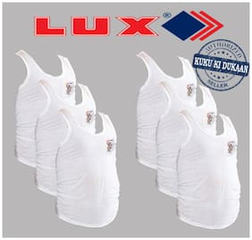 Lux Pack of 6 Vests for Kids