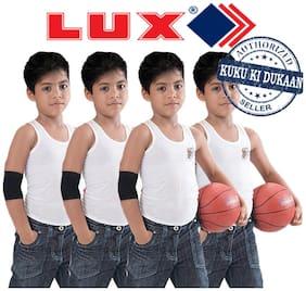Lux Vest For Baby boy - White , 4