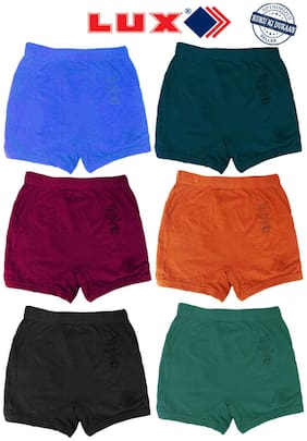 Lux Panty & bloomer For Unisex - Multi , 6