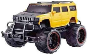 Mad Racing Cross- Country Remote Control Monster Truck Car (Multicolor)