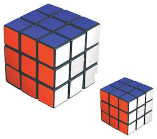 Magic Cube 3 X 3 Puzzle in Two Different Sizes