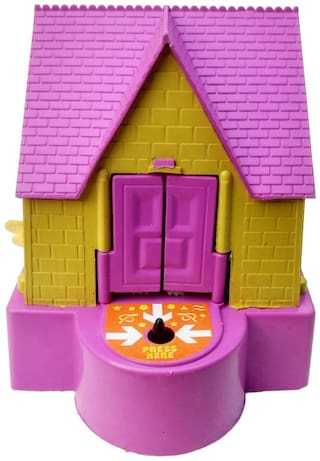 Magic House Stealing Coins Dogs Puppy House Piggy Coin Bank