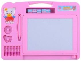 Magic Slate & Writing Board 2 In 1 (Pink)