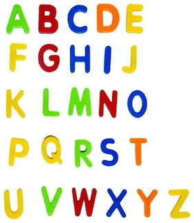 Magnetic Alphabets Learning Toy for Kids;Large (Multicolour)