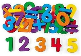 Magnetic Learning Educational Magnet Set for Kids (Numbers) Set of 1 (Multi Color)