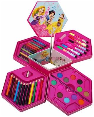 Mahvi Toys 46 pcs Princess Color Box