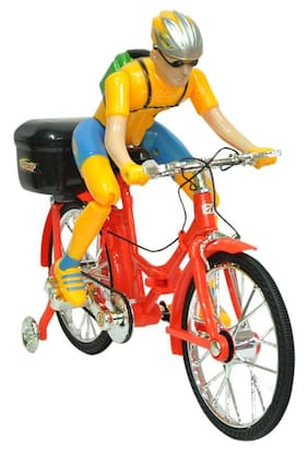 Mahvi Toys Musical Battery Operated Bicycle with Light & Sound