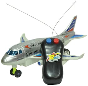 Mahvi Toys Remote Aeroplane 2 Channel Radio Control (Running, Not Flying)
