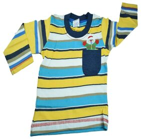 Mama & Bebes Infant Wear - Boys Full Sleeve T Shirt ,Blue