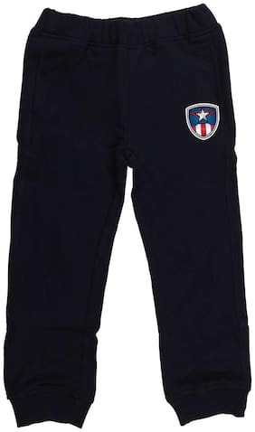 MARVEL AVENGERS Boy Solid Trousers - Blue